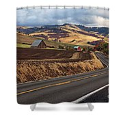 Mill Creek Rd Shower Curtain