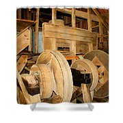 Mill Mechanism Shower Curtain