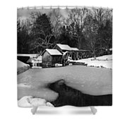 Mill On Ice Shower Curtain