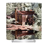 Mill Pond Dreamscape Shower Curtain