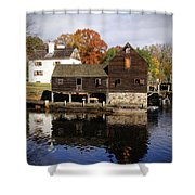 Mill Reflections Shower Curtain