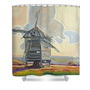 Mill Shower Curtain