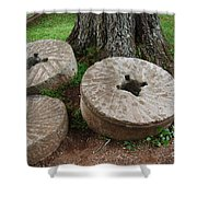 Mill Stone Shower Curtain