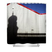 Mill Town Shower Curtain