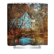 Mill - Walnford, Nj - Walnford Mill Shower Curtain