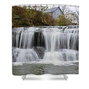Mill Waterfall Shower Curtain