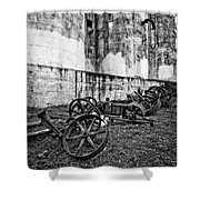 Mill Wheels Shower Curtain