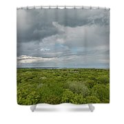 Mille Lacs Tower View 1 Shower Curtain