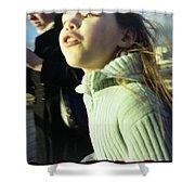 Millenium Bridge IIi Shower Curtain