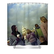 Millenium Bridge Shower Curtain