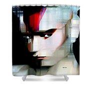 Millennial Pop Art Shower Curtain