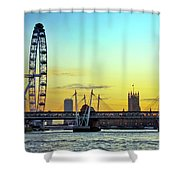 Millennium Sunset Shower Curtain