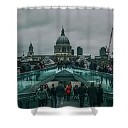 Millennium X St Paul's Shower Curtain