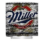 Miller Beer 5b Shower Curtain