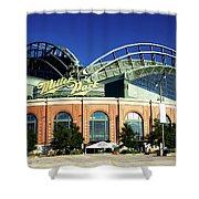 Miller Park - Milwaukee Wisconsin Shower Curtain