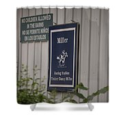 Miller Stable Shower Curtain