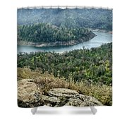 Millerton Big Bend Finegold Park Shower Curtain