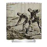 Millet Shower Curtain