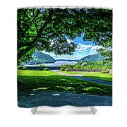 Million Dollar View From West Point Military Academy Shower Curtain