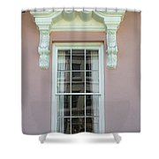 Mills House Pink   Shower Curtain