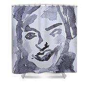 Milo Iv Shower Curtain by Khalid Alzayani