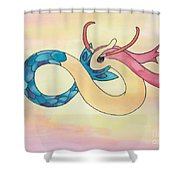 Milotic Shower Curtain