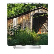 Milton Dye Covered Bridge  Shower Curtain