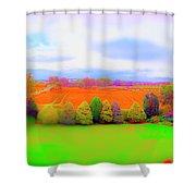 Milton Gardens Shower Curtain