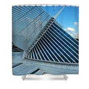 Milwaukee Art Museum #33 Shower Curtain