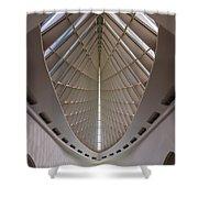 Milwaukee Art Museum Hall Shower Curtain