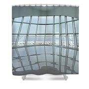 Milwaukee Art Museum Lake Michigan Shower Curtain