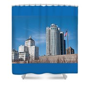 Milwaukee Cityscape Shower Curtain