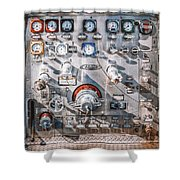 Milwaukee Fire Department Engine 27 Shower Curtain