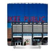 Milwaukee Public Market Shower Curtain