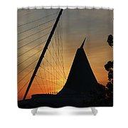 Milwaukee Sunrise 1 Shower Curtain