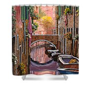 Mimosa Sui Canali Shower Curtain