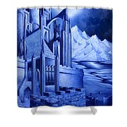 Minas Tirith Shower Curtain