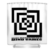 Mind Games 10se Shower Curtain