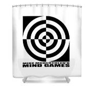 Mind Games 1se Shower Curtain