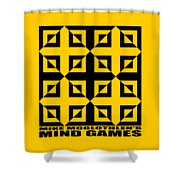Mind Games 37se Shower Curtain
