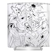 Mind In Motion 4 17042 Shower Curtain