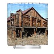 Minden Barn 17 Shower Curtain
