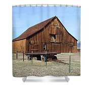 Minden Barn 2 Shower Curtain