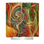 Mindtrip Shower Curtain