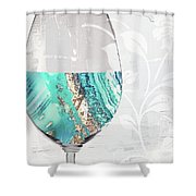 Mineral Water Shower Curtain