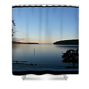 Miners Bay Nye Morning 2015 Shower Curtain