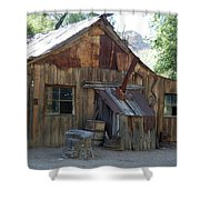 Miners Cabin. Shower Curtain