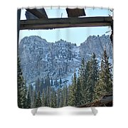 Miners Lost View Shower Curtain