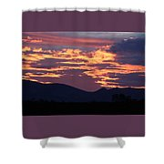 Mingus Sunset 052814a Shower Curtain
