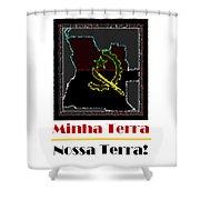 Minha Terra Shower Curtain